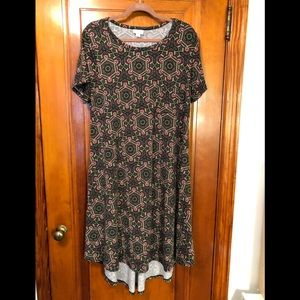 LuLaRoe Carly Dress XL